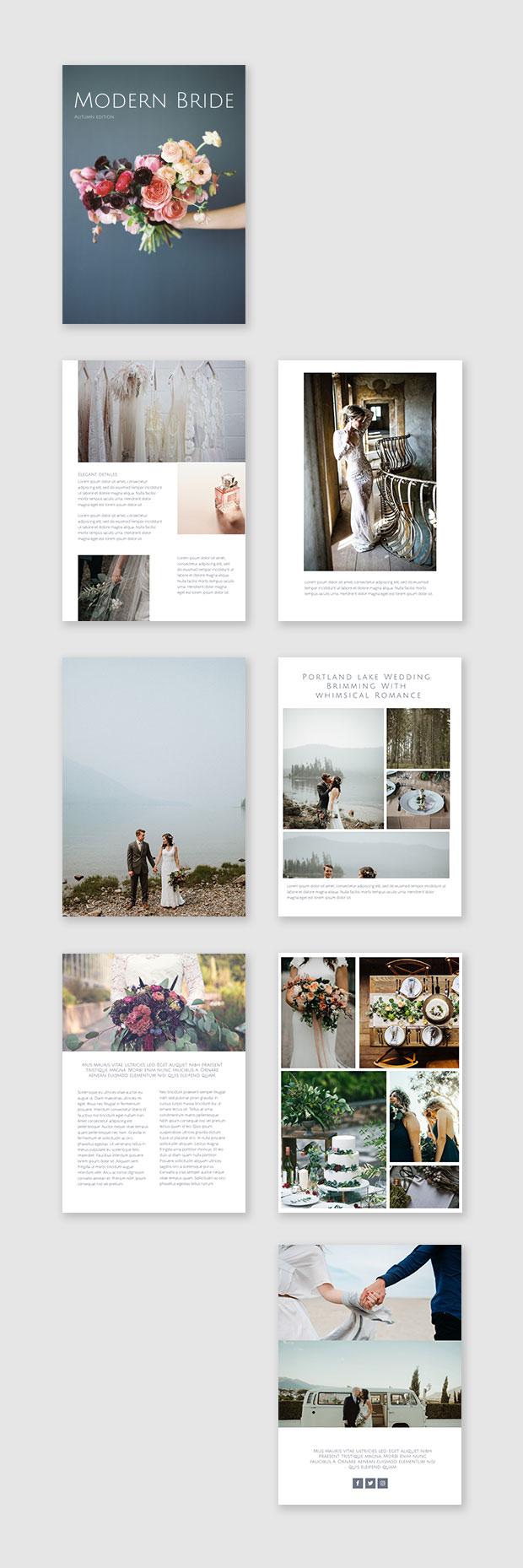 wedding photo album example