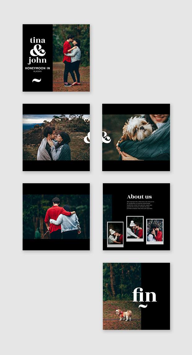 honeymoon photo album