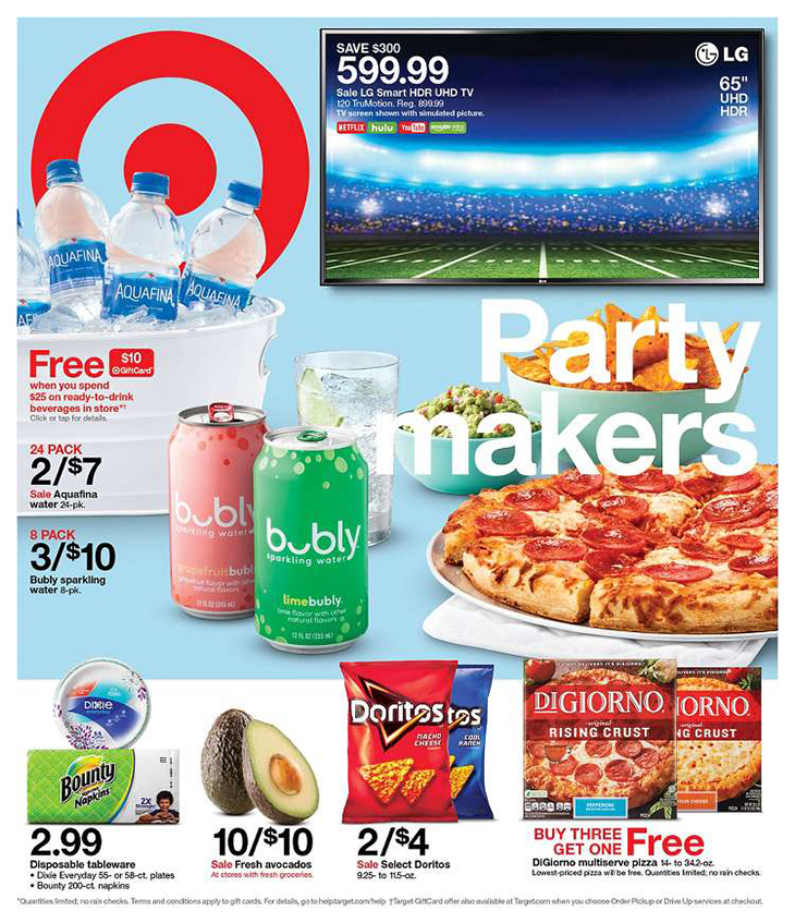 how top 100 brands use catalogs - target