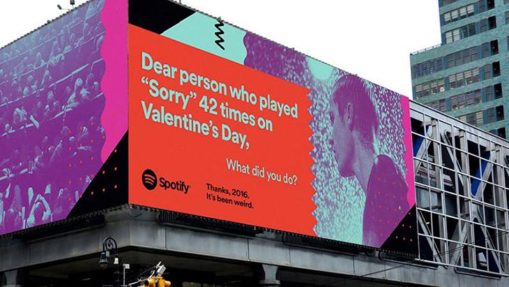 10 brand storytelling examples - Spotify