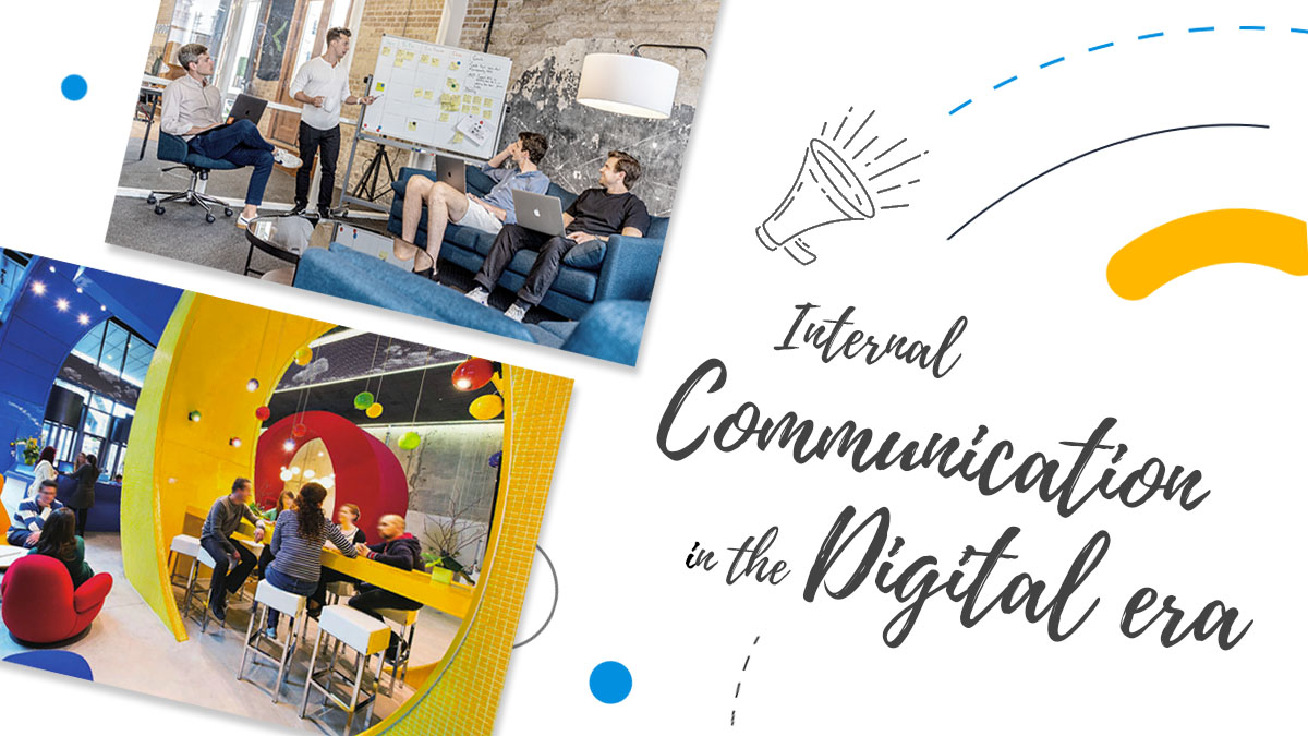 Internal communication strategy in the digital era cover