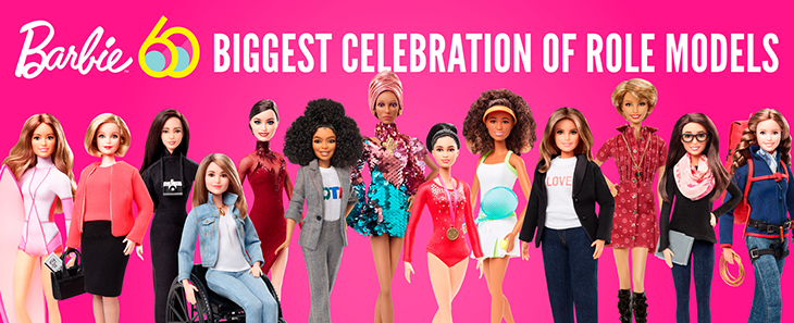 barbie international womens day.