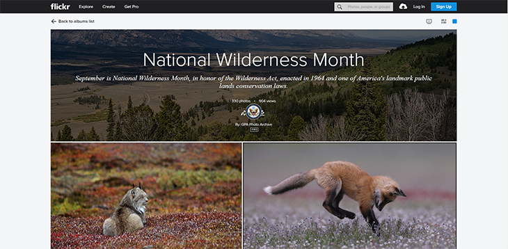 2020 national wilderness month