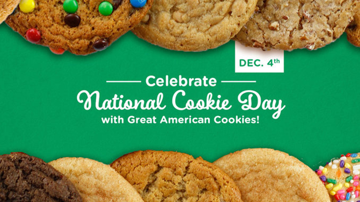 2020 content marketing calendar cookie day December 4