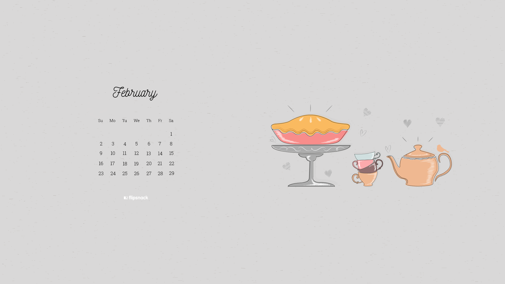 February 2020 wallpaper calendars