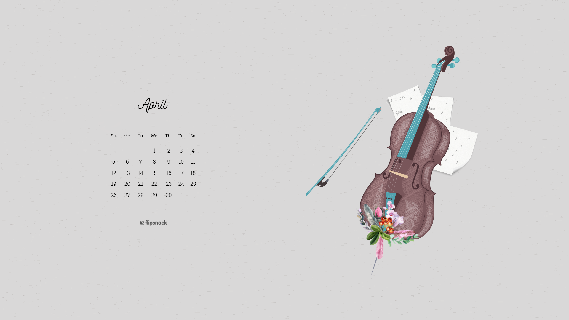 April 2020 wallpaper calendars
