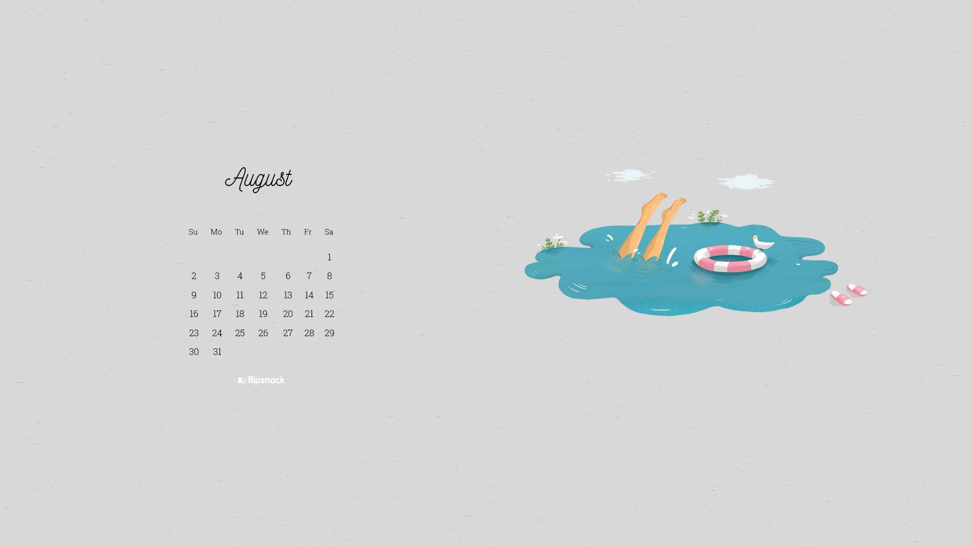 august 2020 wallpaper calendars