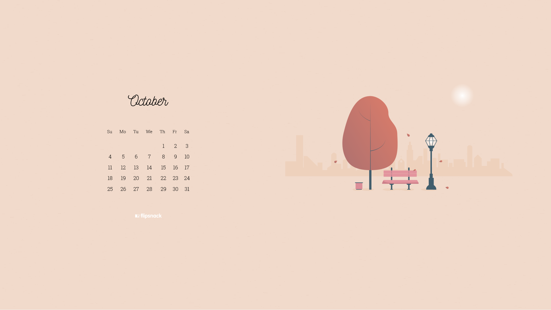 october 2020 wallpaper calendars design