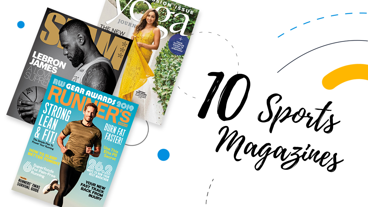 10 sports magazine cover