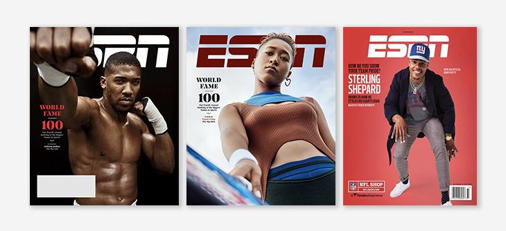 is print dead? ESPN magazine