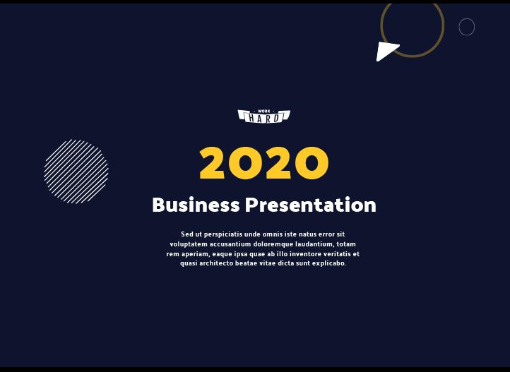 Saas-business-presentation-template