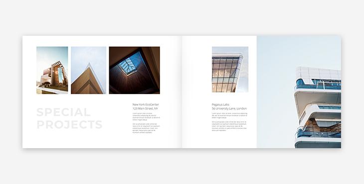 sample architect portfolio