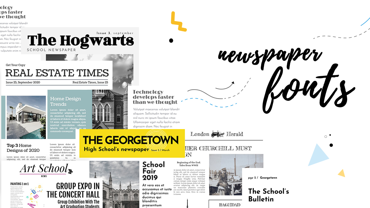 8 impactful newspaper fonts for your next headline