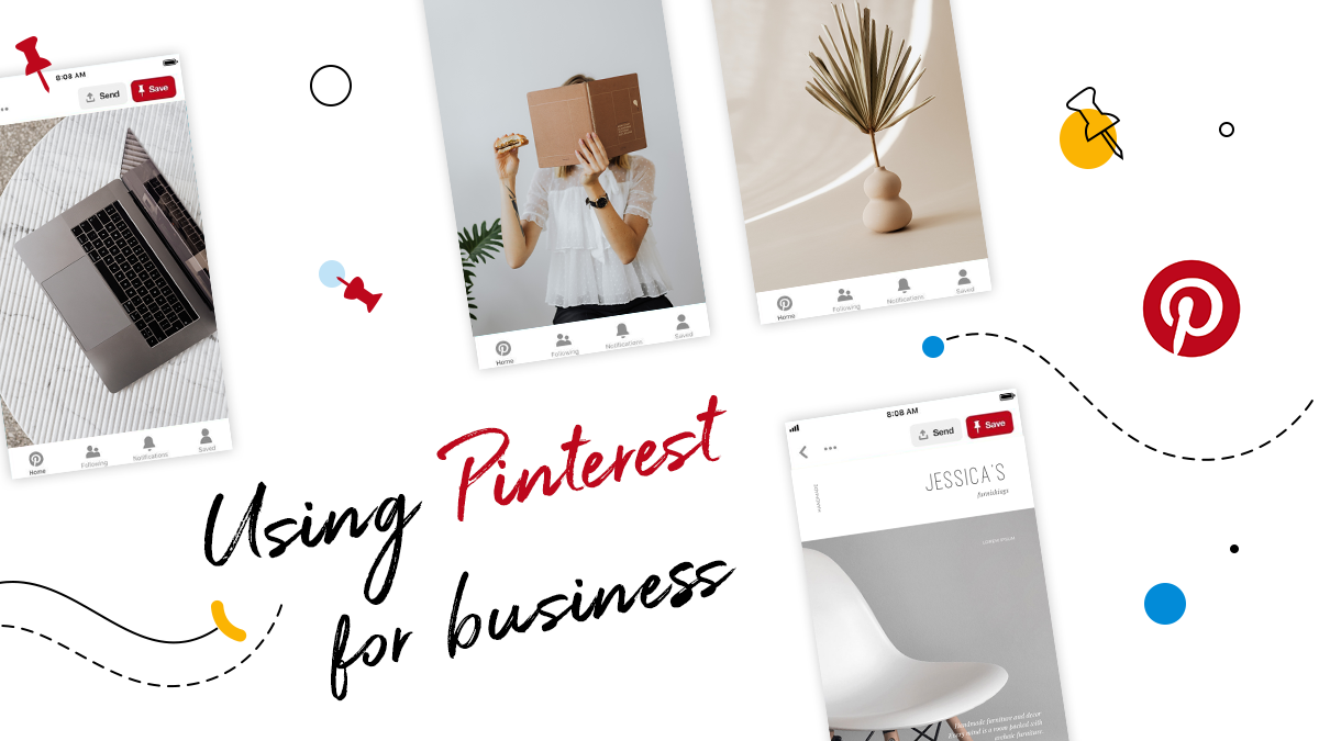 using pinterest for business article