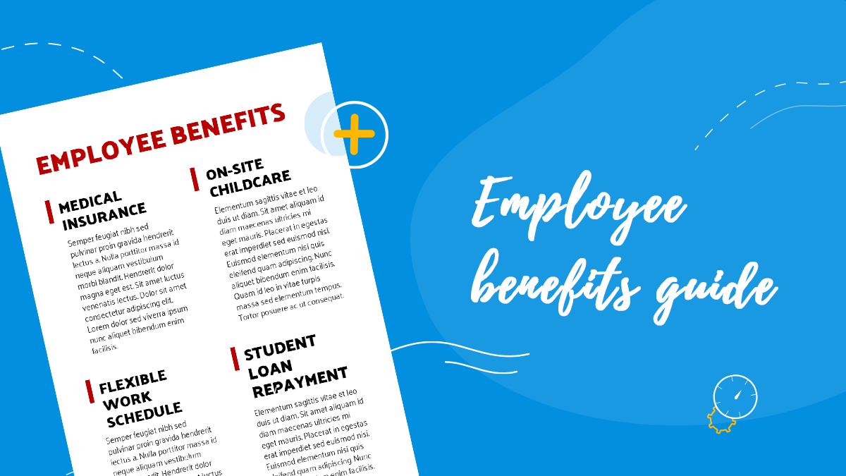 Employee benefits guide cover