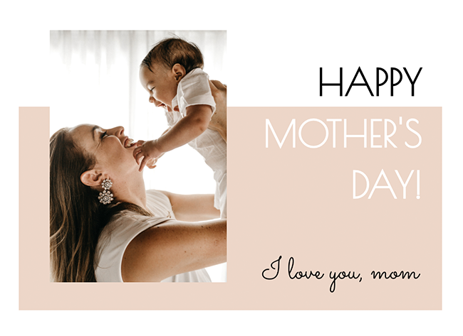 Printable Happy Mother's Day Card