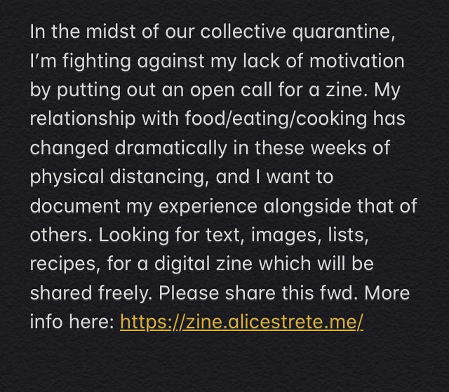 makine a zine - open call for submissions