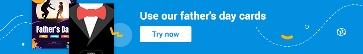 father's day cards banner