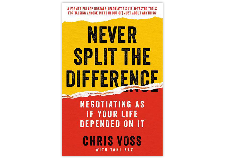 marketing books:  Never Split the Difference
