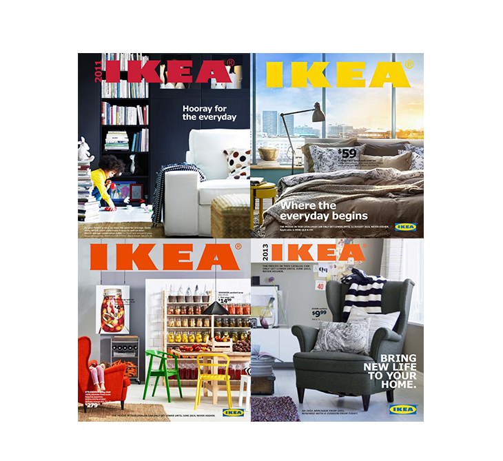 How to make a catalog like IKEA, covers