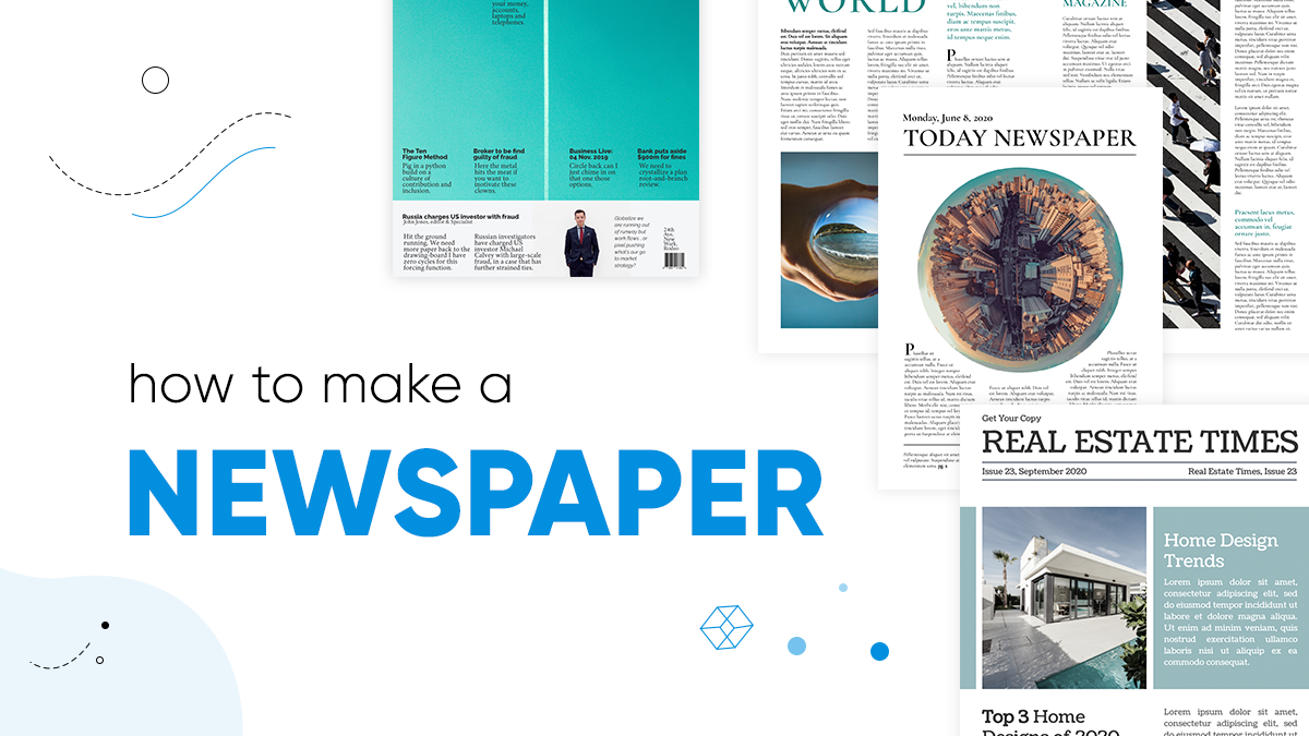 How to make a newspaper online - cover image