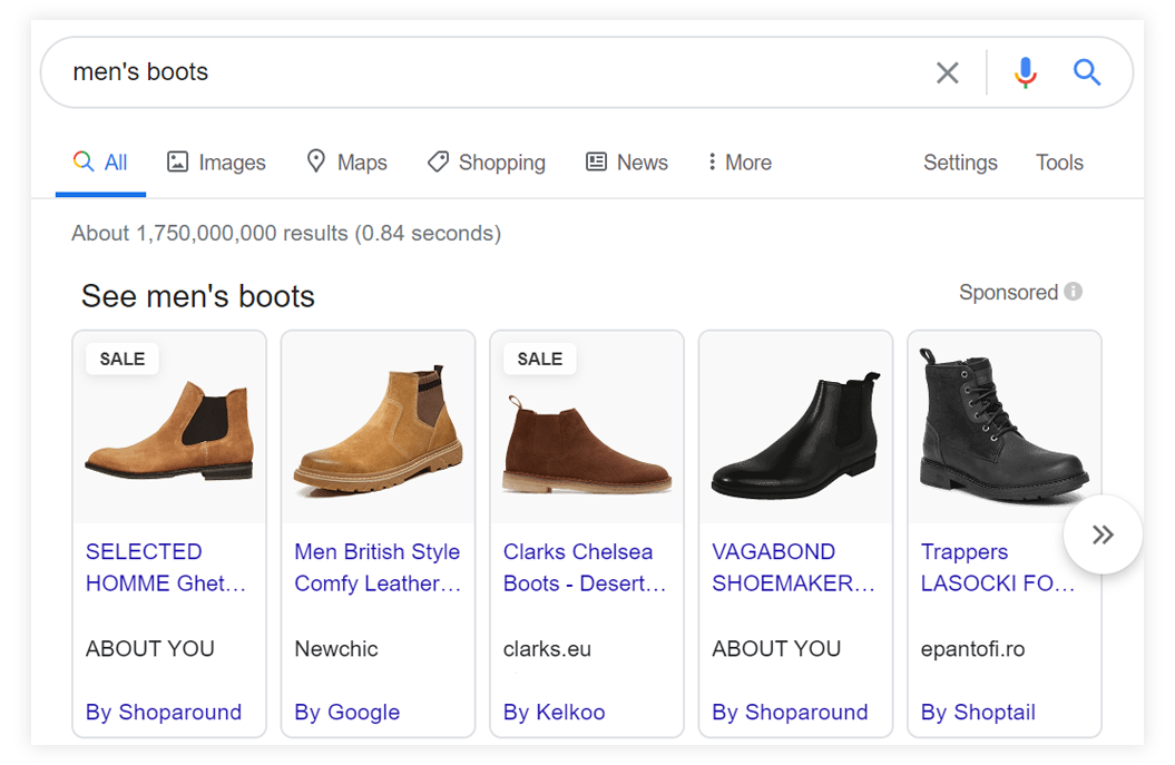 Google shopping ads as a retail marketing strategy