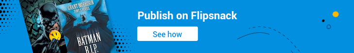 publish on flipsnack