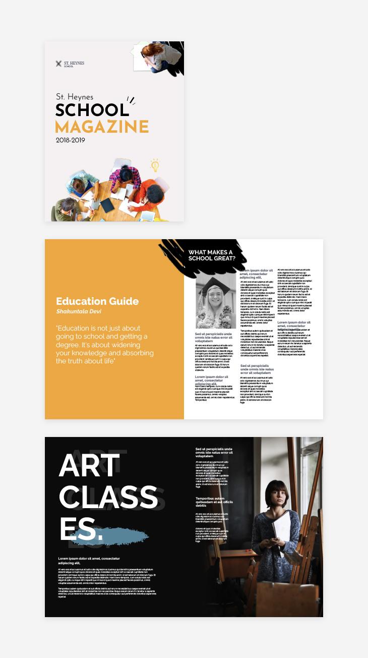 school magazine online educational tool