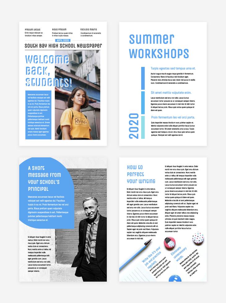 online educational tool newspaper