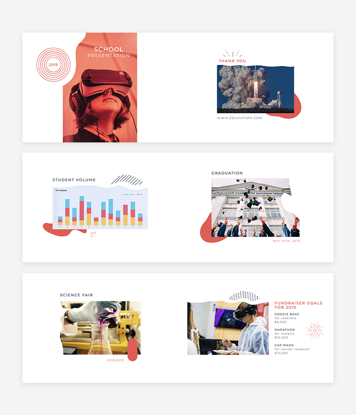 school presentation online educational tool