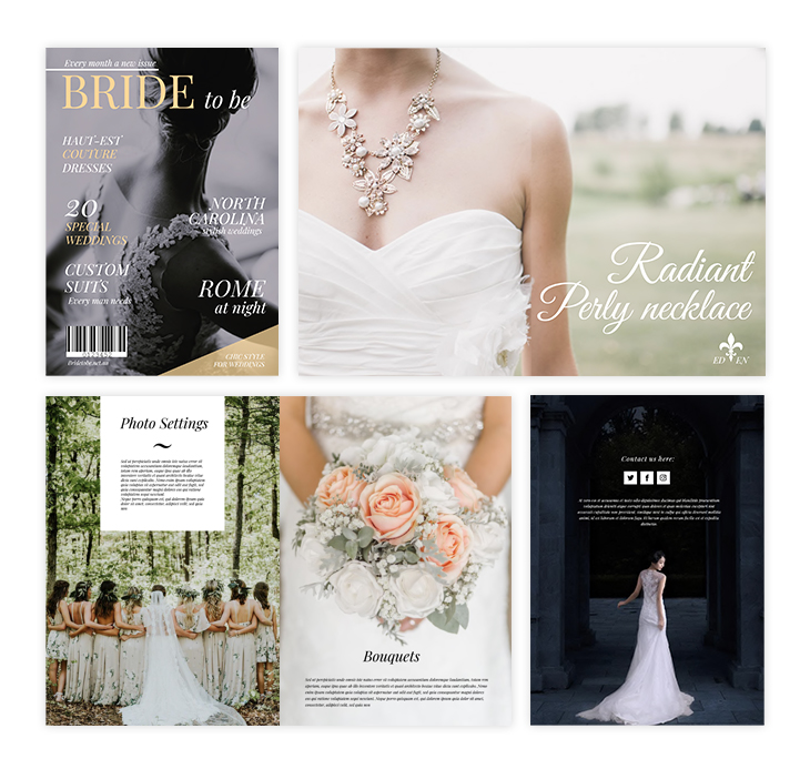 best wedding magazines free template