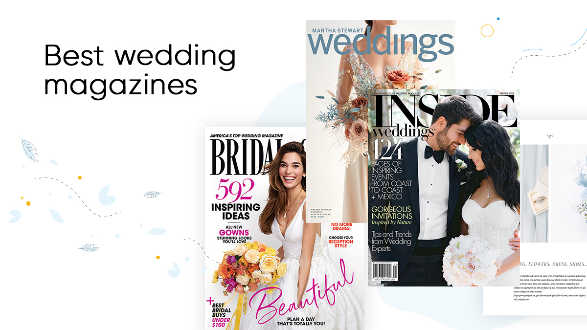 cover best wedding magazines