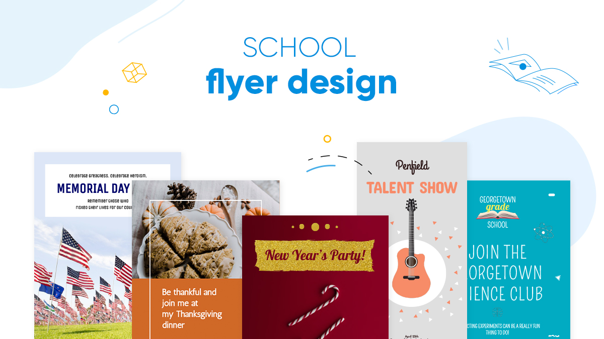school flyer design ideas