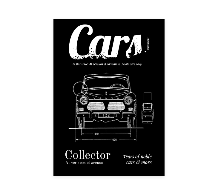 car magazine free template