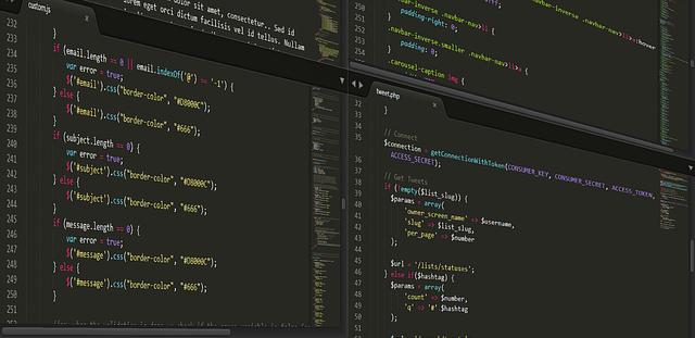 image code programming