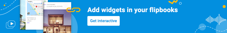 banner making your flipbooks more interactive with widgets