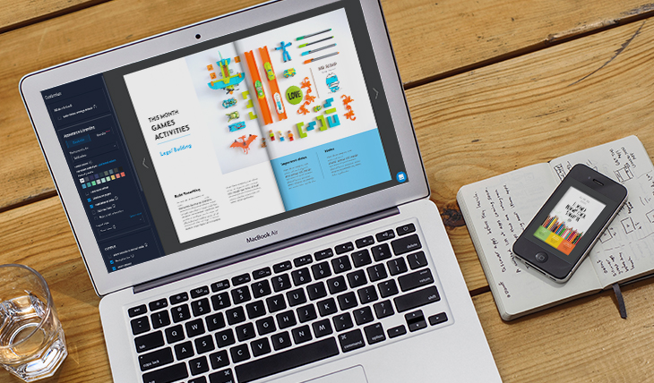 digital school newsletter