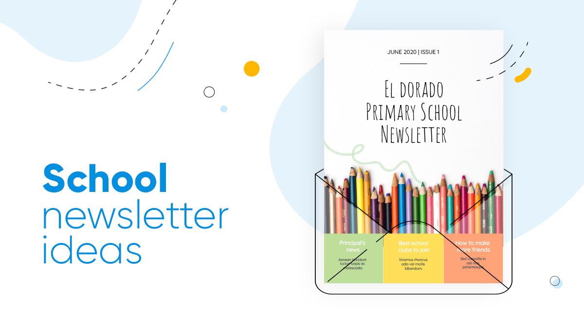 school newsletter ideas