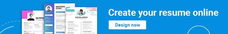 banner make on online resume