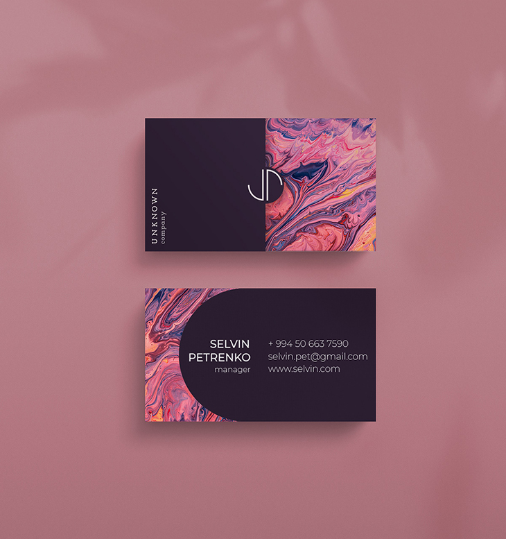 Example of a creative business card idea