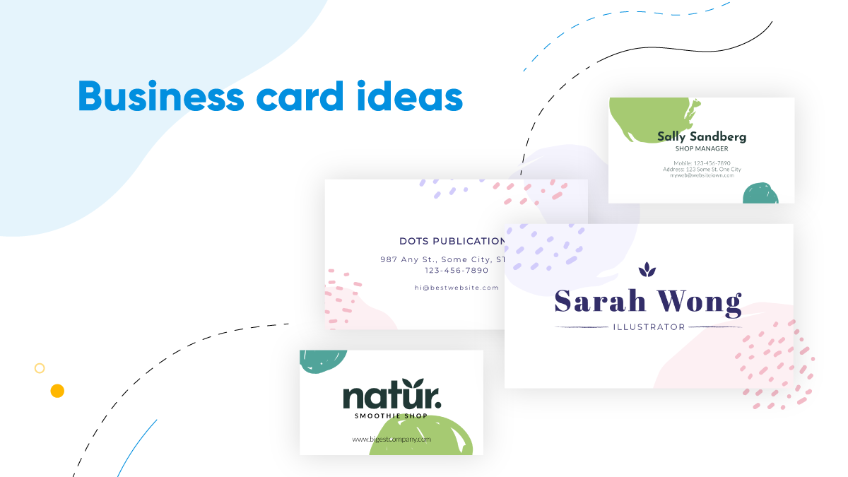 cover image for the blog post: 20+ business card design ideas to help you seal the deal