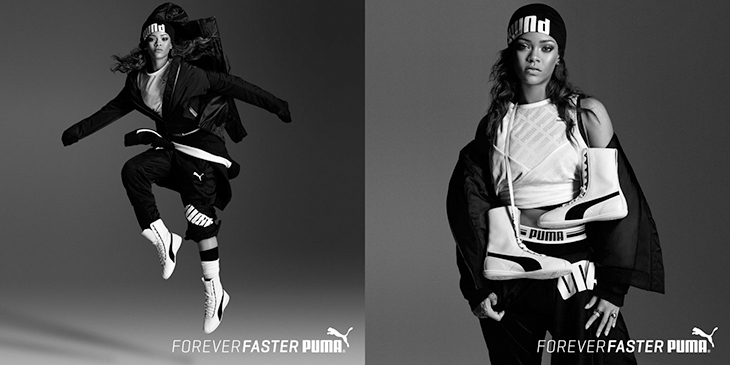 Puma campaign with Rihanna