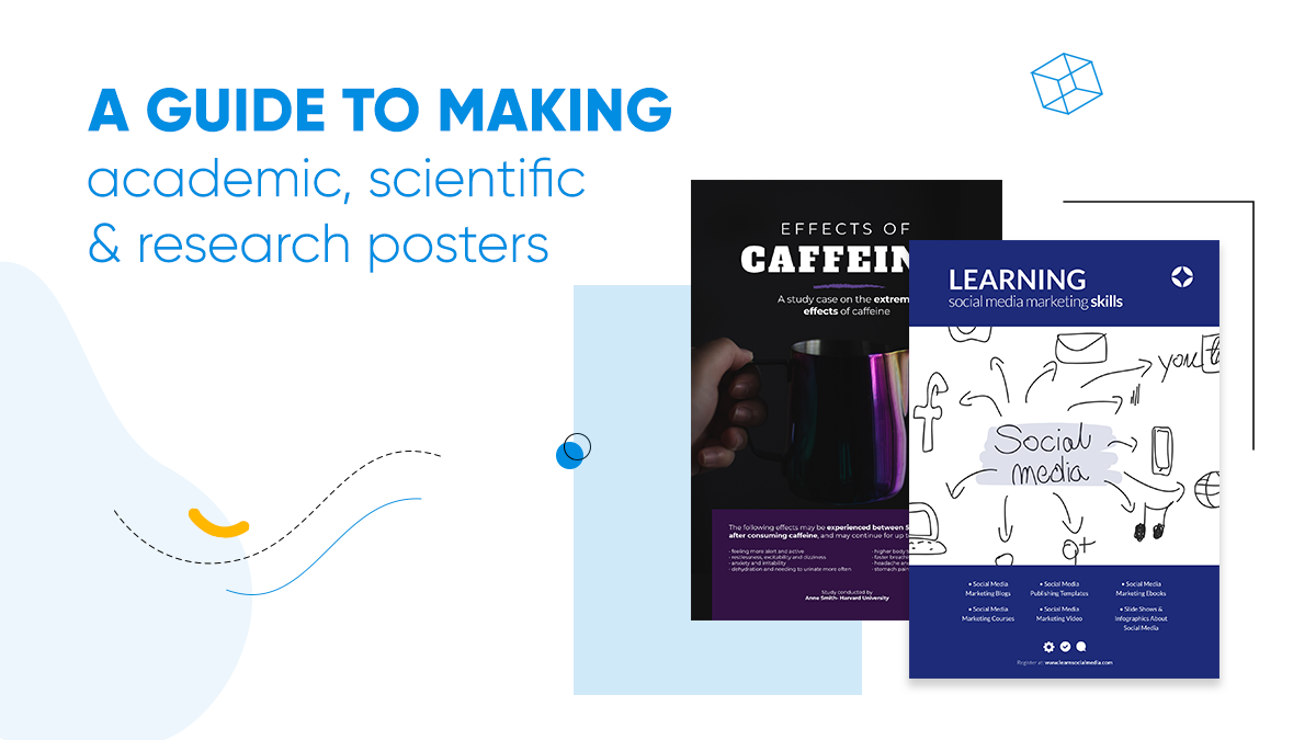 article cover about how to make academic, scientific & research posters