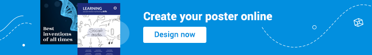 banner for creating your poster online