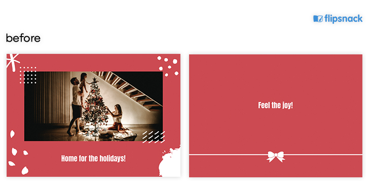 Free Online Xmas Card Template