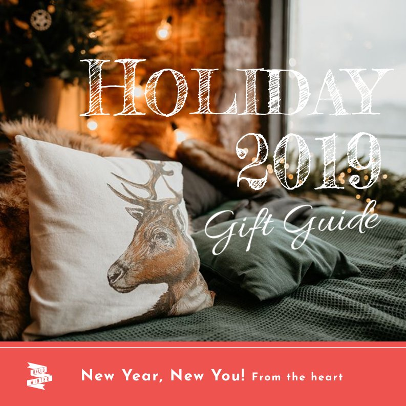 Unique Holiday Gift Guide Template