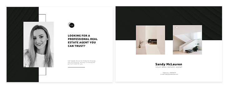 real estate postcard ideas fourth template
