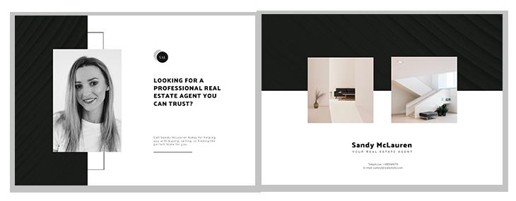real estate postcard ideas fourth template