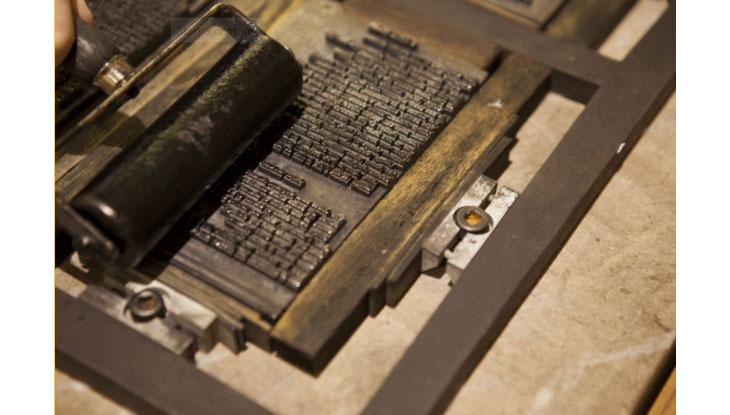 Johannes Gutenberg's printing press