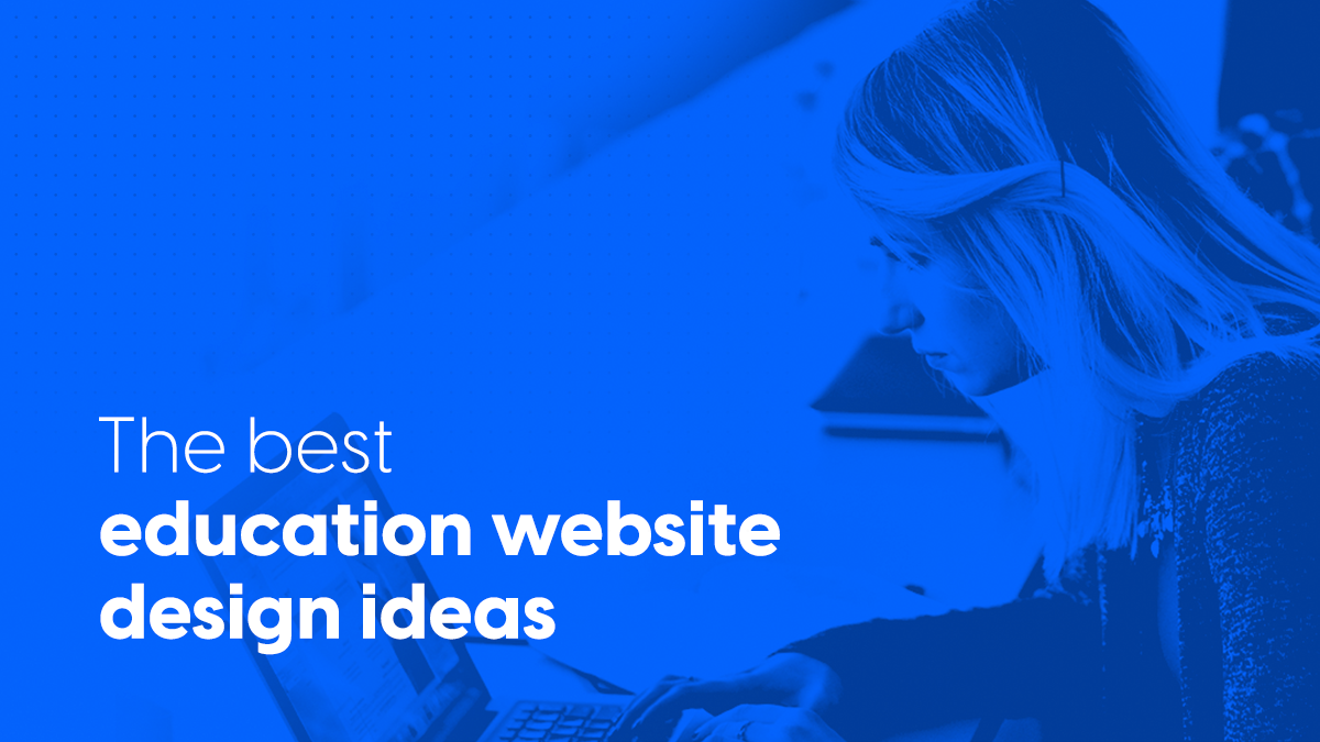 The best education website design ideas cover image